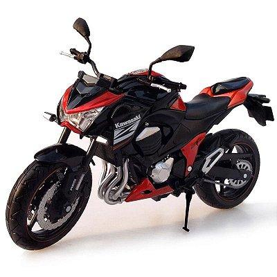 Miniatura Kawasaki Z800 2014 Automaxx 1:12