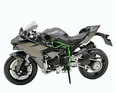 Miniatura Kawasaki Ninja H2 2015 Automaxx 1:12