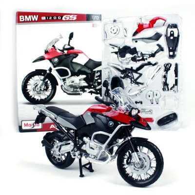 Miniatura BMW R 1200 GS Maisto Assembly Line 1:12 Kit de Montar