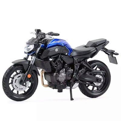 Miniatura Yamaha MT 07 2018 Maisto 1:18