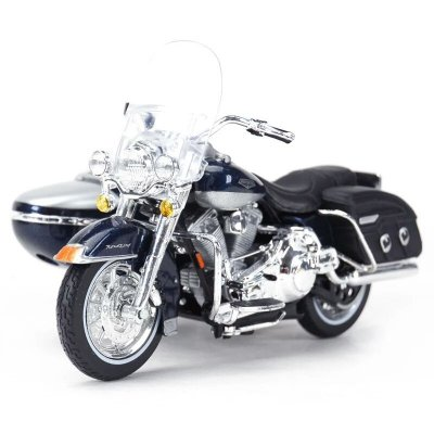 Miniatura Harley Davidson Road King Classic FLHRC 2001 Sidecar Maisto 1:18