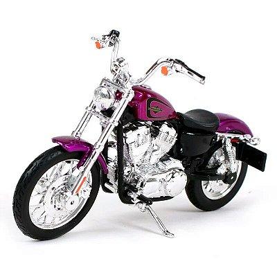 Miniatura Harley Davidson Seventy-Two 1200V XL 2013 Maisto 1:18 - Series 38