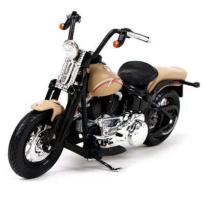 Miniatura Harley Davidson Cross Bones FLSTSB 2008 Maisto 1:18 - Series 38