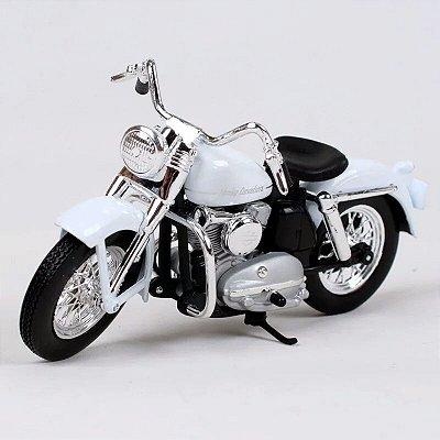 Miniatura Harley Davidson K Model 1952 Maisto 1:18 - Series 37