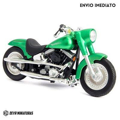 Miniatura Harley Davidson FLSTF Street Stalker Maisto 1:18 - Series 37