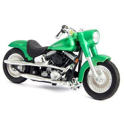 Miniatura Harley Davidson FLSTF Street Stalker Maisto 1:18
