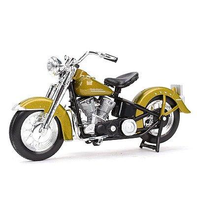 Miniatura Harley Davidson F4FL Hydra Glide 1953 Maisto 1:18