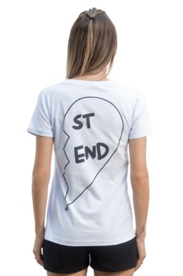 Camiseta Best Friend Branca (StEnd)