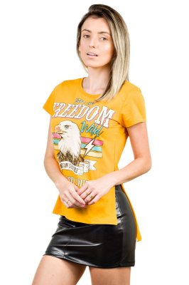 Camiseta Águia Mostarda