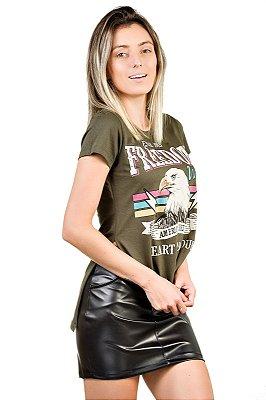Camiseta Águia Verde Militar