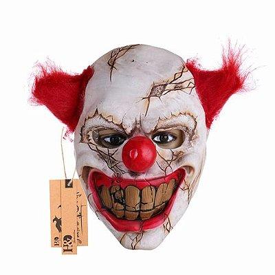 Máscara Palhaço Frontal Bizarro Pegadinhas