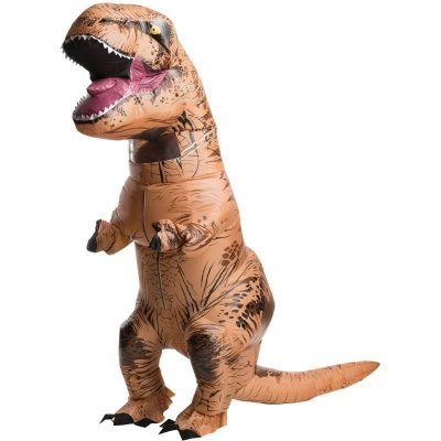 Fantasia Dinossauro Rex Inflável Corpo Inteiro - Adulto