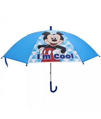 Guarda Chuva Azul Mickey Disney