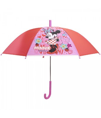 Guarda Chuva Minnie Rosa Disney