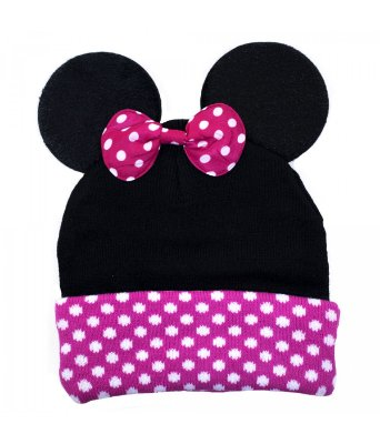 Touca / Gorro De Orelhas Minnie - Disney