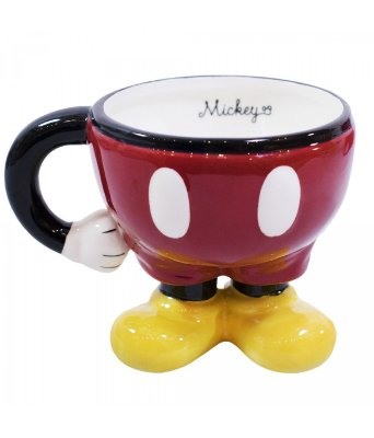 Caneca Corpo do Mickey Porcelana - Disney