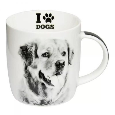 Caneca I Love Dogs Golden Retriever 320ml