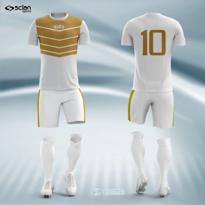 Jogo Camisa Futebol Cromo SS13