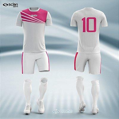 Jogo Camisa Futebol Cromo SS15