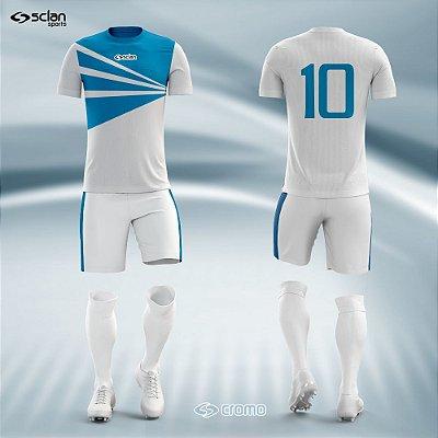 Jogo Camisa Futebol Cromo SS16