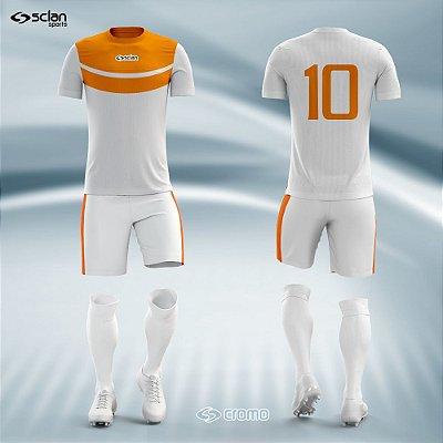 Jogo Camisa Futebol Cromo SS18