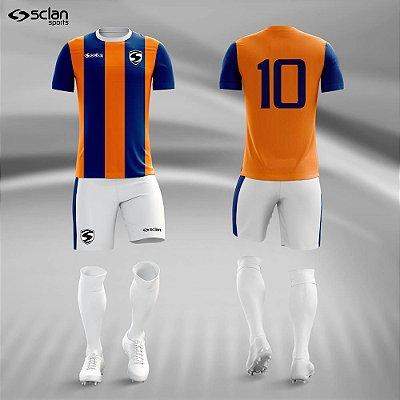 Jogo Camisa Futebol Ouro ss56