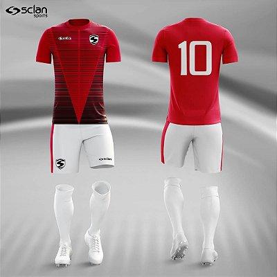 Jogo Camisa Futebol Premium ss76