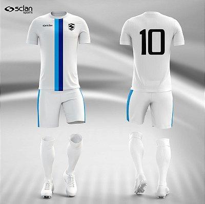 Jogo Camisa Futebol Cromo SS34