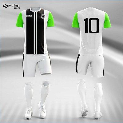 Jogo Camisa Futebol Ouro ss89