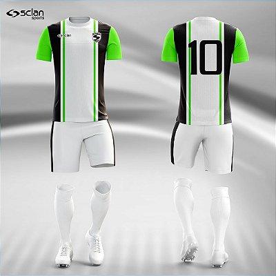 Jogo Camisa Futebol Ouro ss90