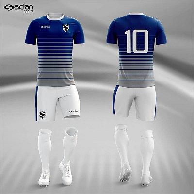 Jogo Camisa, Short, Meião Futebol | Série Premium ss48