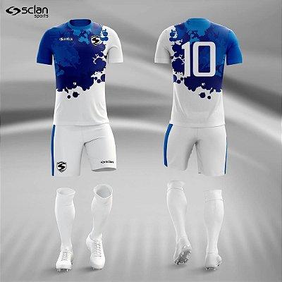 Jogo Camisa, Short, Meião Futebol | Série Premium ss66