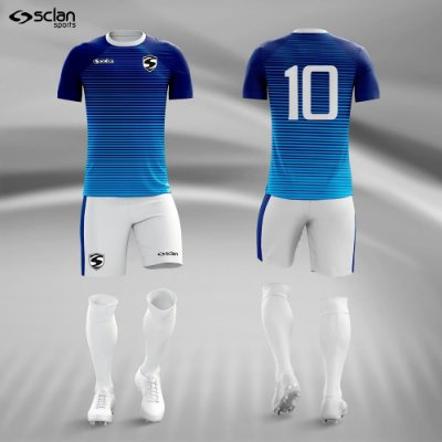 Jogo Uniforme Esportivo Camisa Short, Meião Futebol | Série ouro COD.  ss69