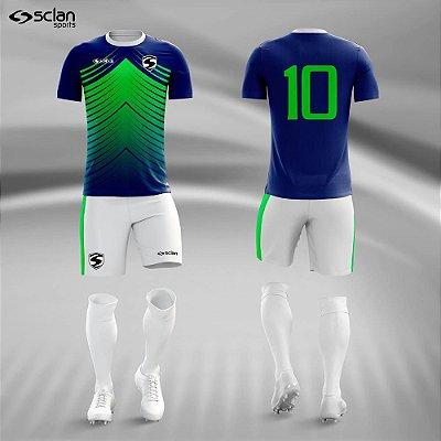 Jogo Camisa, Short, Meião Futebol | Série Premium ss70