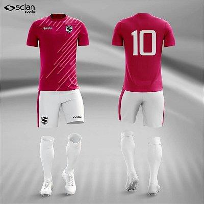 Jogo Camisa, Short, Meião Futebol | Série Premium ss80