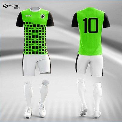 Jogo Camisa, Short, Meião Futebol | Série Premium ss83