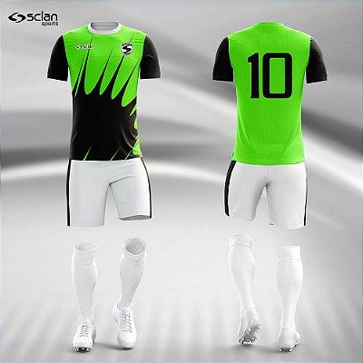 Jogo Camisa, Short, Meião Futebol | Série Premium ss88