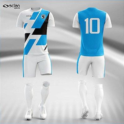 Jogo Camisa, Short, Meião Futebol | Série Premium ss93