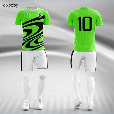 Jogo Camisa, Short, Meião Futebol | Série Premium ss99