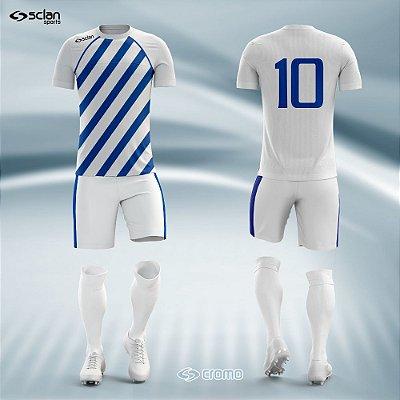 Jogo Camisa, Short, Meião Futebol | Série Prata ss06