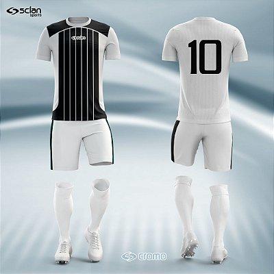 Jogo Camisa, Short, Meião Futebol | Série Prata ss09
