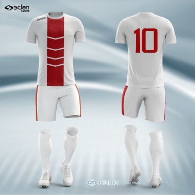 Jogo Uniforme Esportivo Camisa Short, Meião Futebol | Série Prata  ss14