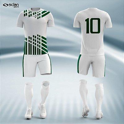 Jogo Camisa, Short, Meião Futebol   Série Prata ss24