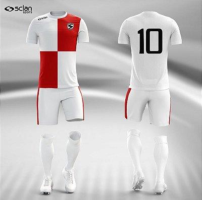 Jogo Camisa, Short, Meião Futebol | Série Prata ss33