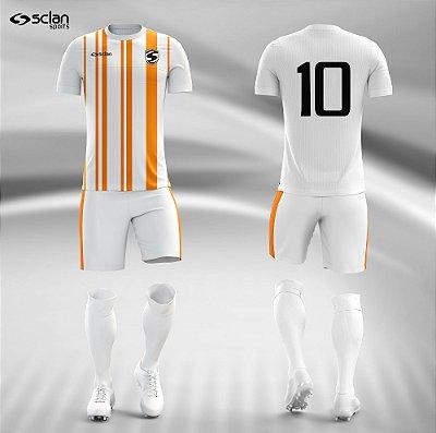 Jogo Camisa, Short, Meião Futebol | Série Prata ss37