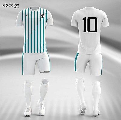Jogo Camisa, Short, Meião Futebol | Série Prata ss41