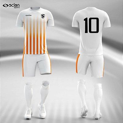 Jogo Camisa, Short, Meião Futebol   Série Prata ss42