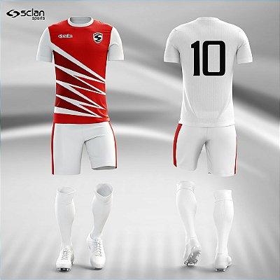 Jogo Camisa, Short, Meião Futebol | Série Prata ss82