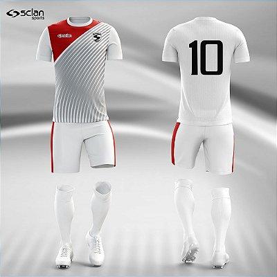 Jogo Camisa, Short, Meião Futebol | Série Prata ss105