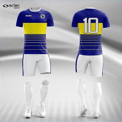 Jogo Camisa, Short, Meião Futebol | Série Ouro ss106